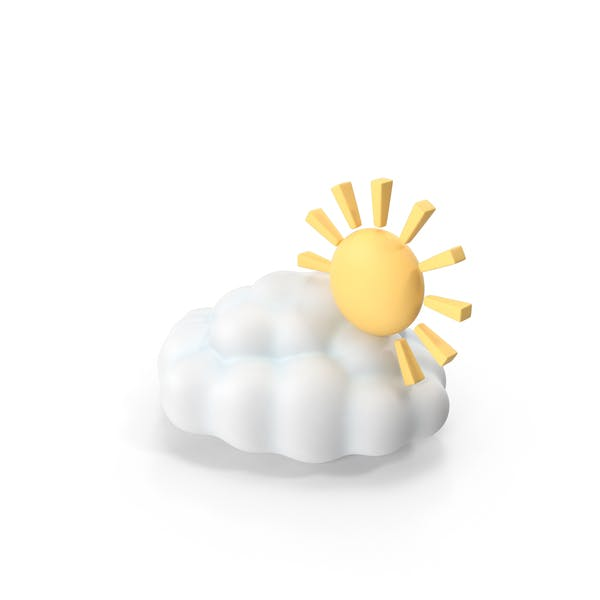 Partly Cloudy Weather Symbol