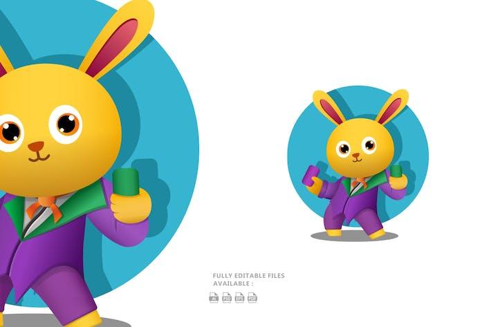 Thumbnail for Bunny Cartoon Illustration