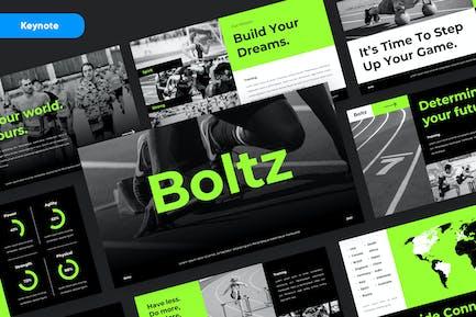 BOLTZ - Sport & Fitness Kyenote Template