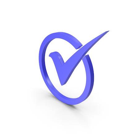Check Icon Blue