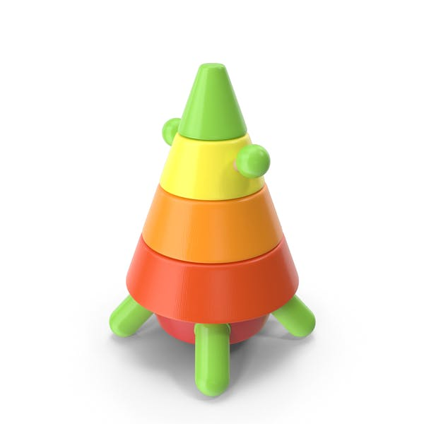 Rocket Pyramid Toy