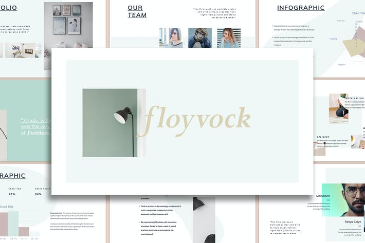 Thumbnail for Floyvock - Architecture Powerpoint Template