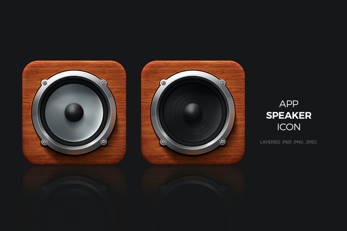 Speaker App Icon