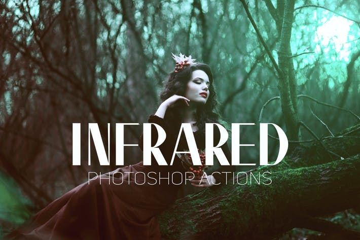 Thumbnail for Infrared IR Photoshop Actions
