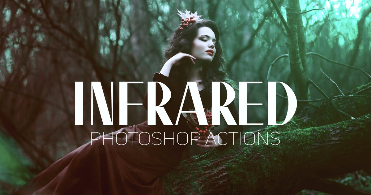 Download Infrared IR Photoshop Actions by creativetacos