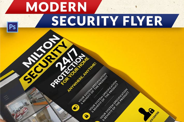 Thumbnail for Modern Security Flyer