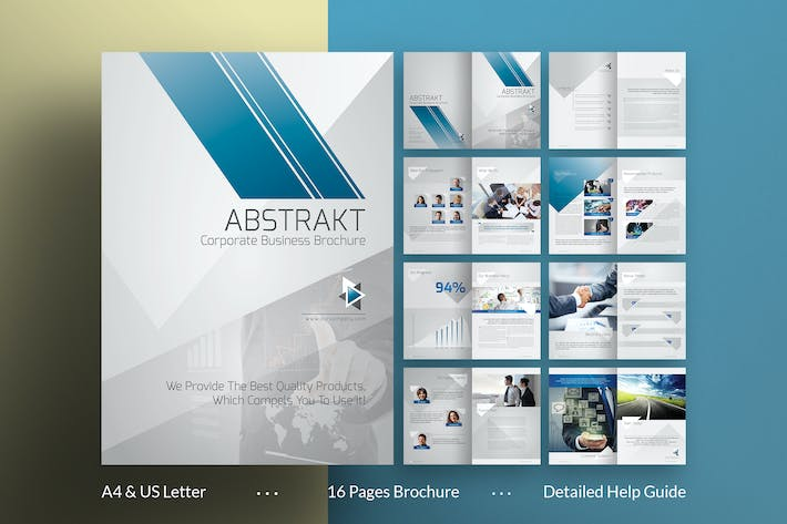 Thumbnail for Abstract Brochure Template
