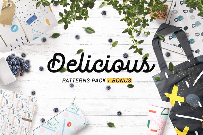Thumbnail for Delicious Patterns Pack + Bonus