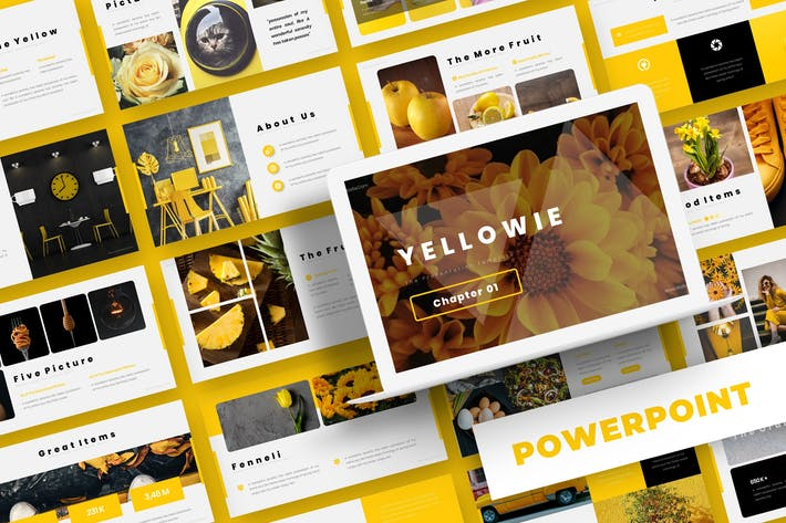 Thumbnail for Yellowie - Powerpoint Template