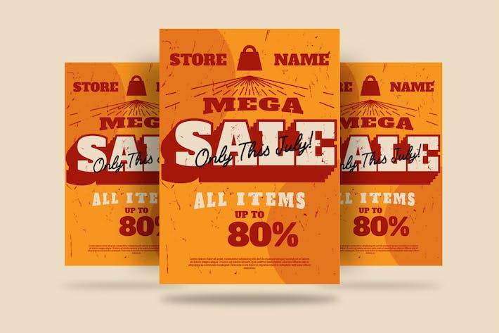 Thumbnail for MEGA SALE Flyer