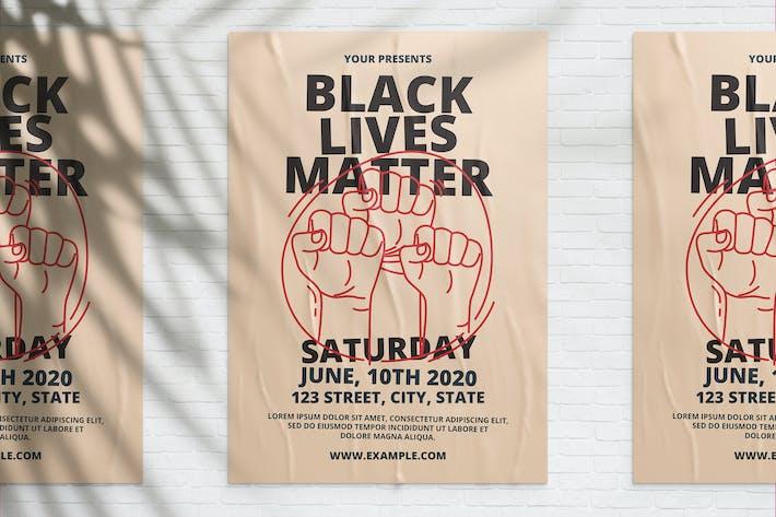 Thumbnail for Black Lives Matter Flyer