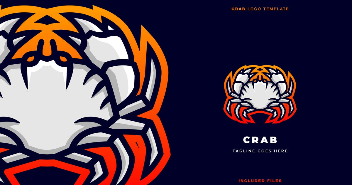 Download Crab Logo Template by flowless