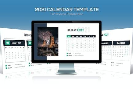 Calendar 2021 Keynote Template