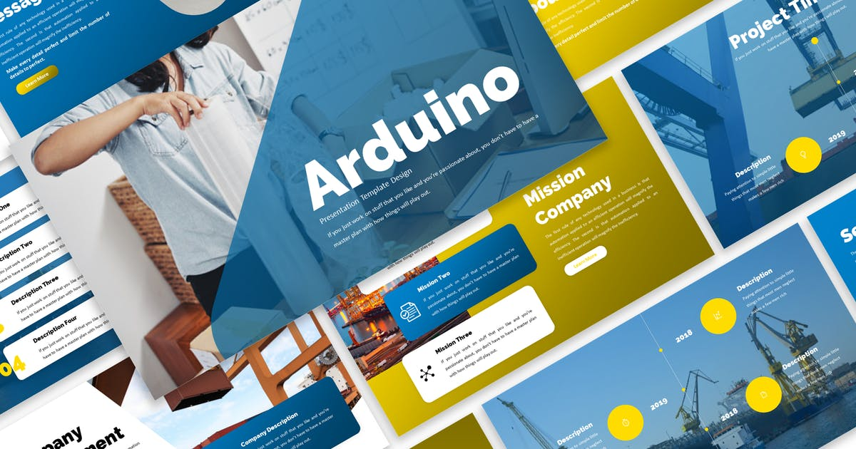 Download Arduino - Business Keynote Template by Blesstudio