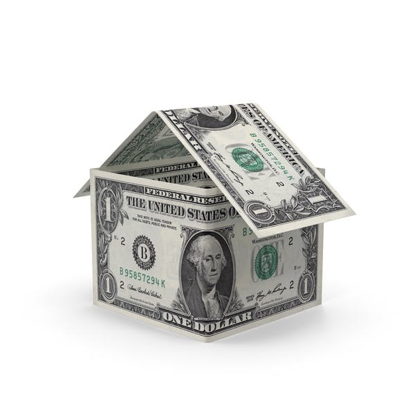 Cover Image for 1 Dollar Bill House