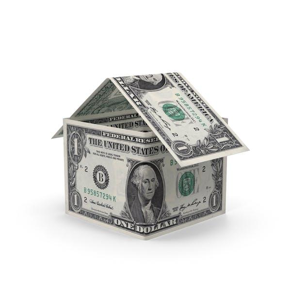 Thumbnail for 1 Dollar Bill House