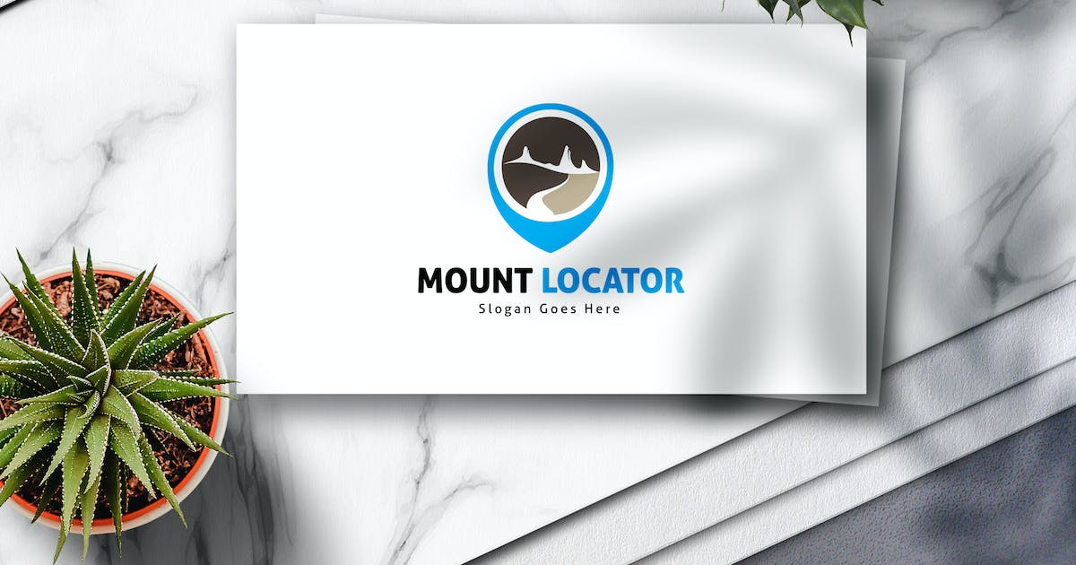 Download Mountain Locator Logo by Voltury