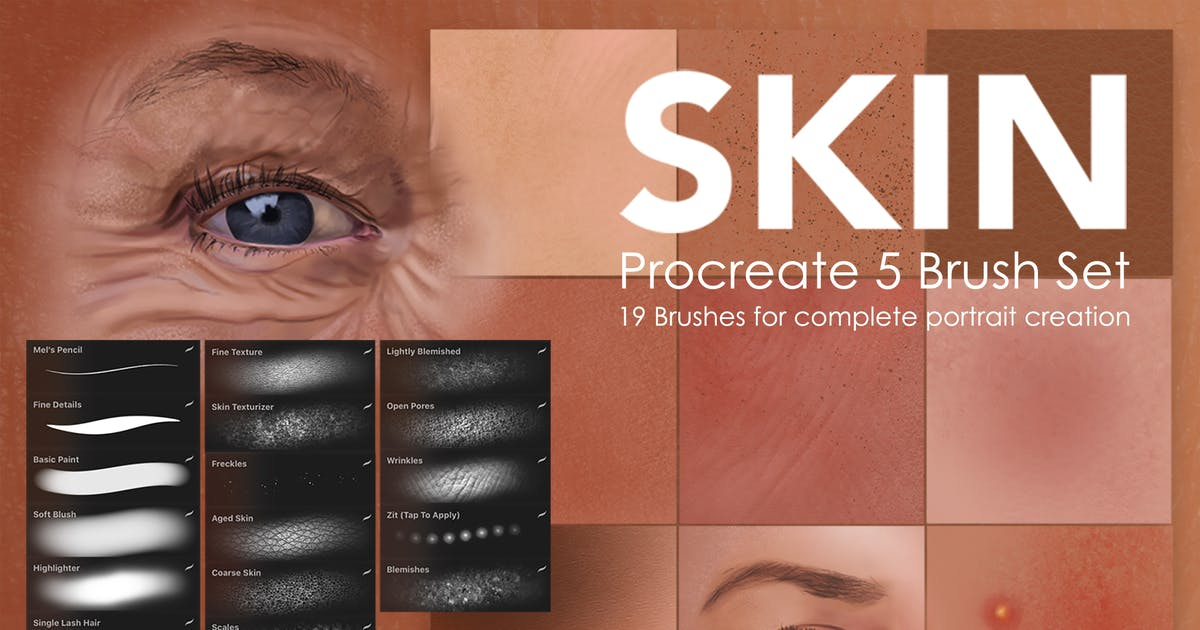 Download Skin Studio Procreate Brushes by melrodicq