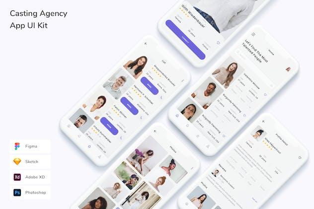Casting Agency App UI Kit