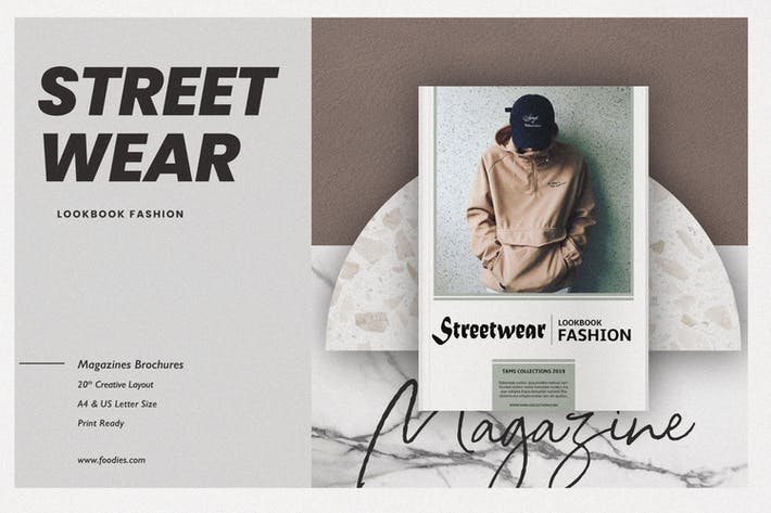 Thumbnail for Fashion Lookbook Streetwear