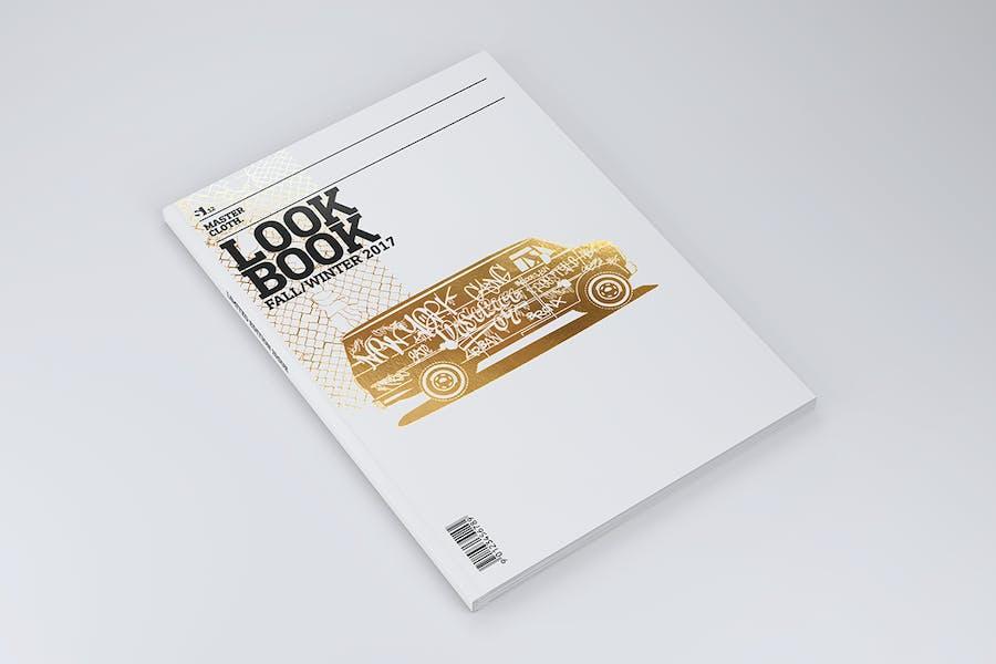 A4 Zeitschriftenbroschüre Mock-up