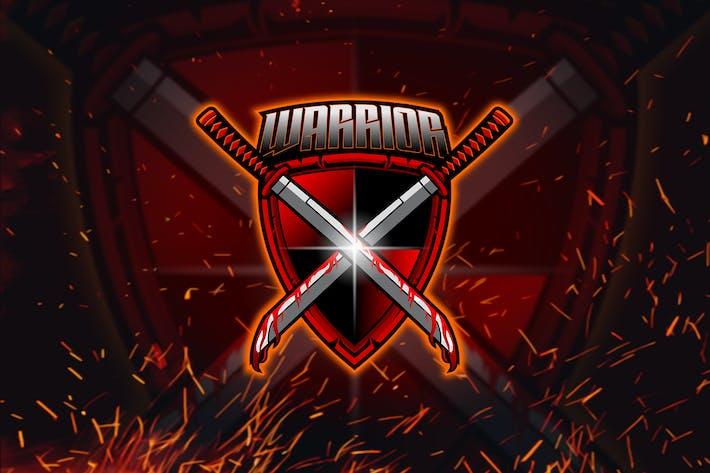 Thumbnail for Warrior - Esport Mascot Logo
