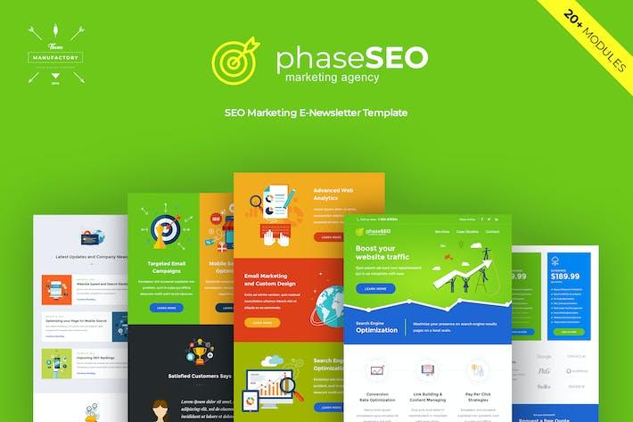 Thumbnail for PhaseSEO - Marketing E-newsletter Template