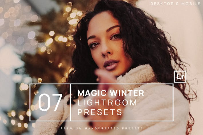 Thumbnail for 7 Magic Winter Lightroom Presets + Mobile