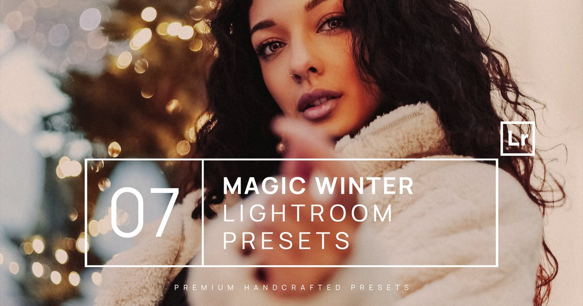 Download 7 Magic Winter Lightroom Presets + Mobile by zvolia