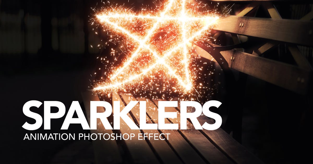 Download Sparklers Animation Photoshop Action by sreda