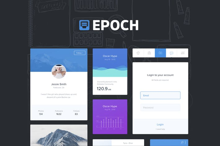 Thumbnail for Epoch UI Kit