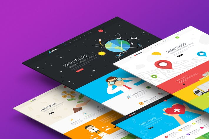 Thumbnail for Globals - Material PSD Template