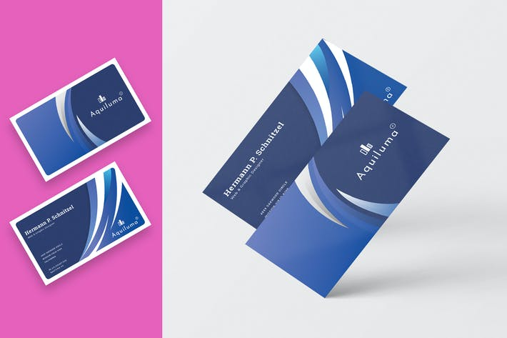 Thumbnail for Abstract Business Card Template