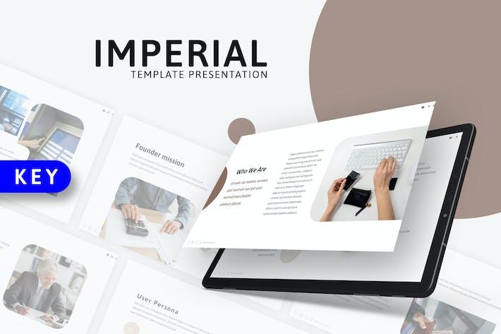 Imperial - Современный шаблон Keynote
