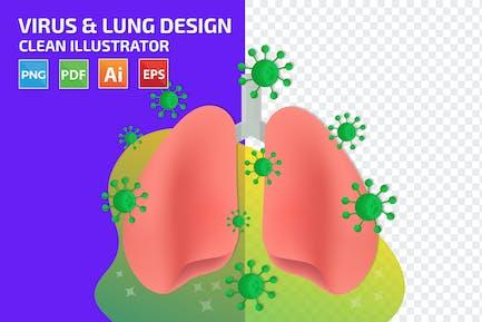 Virus Lung Design