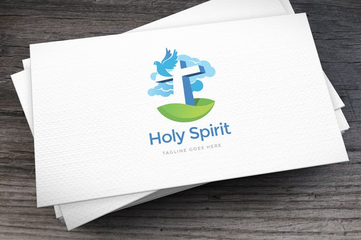 Thumbnail for Holy Spirit Logo Template