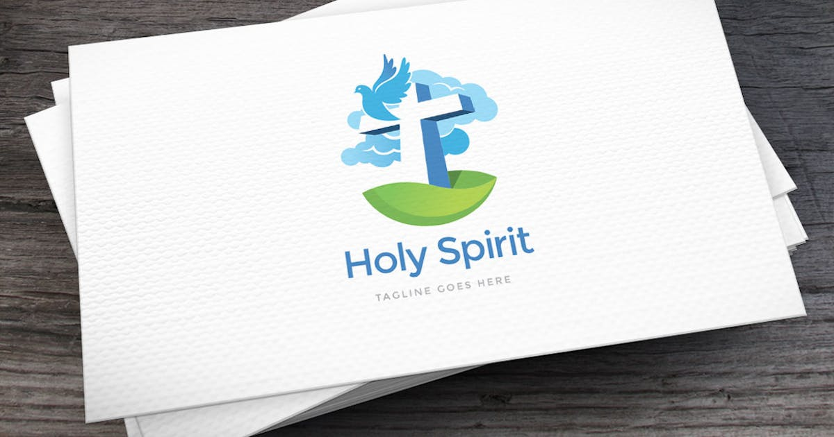 Download Holy Spirit Logo Template by empativo