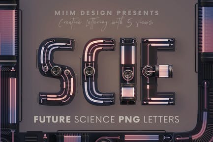 Future Science - 3D Lettering