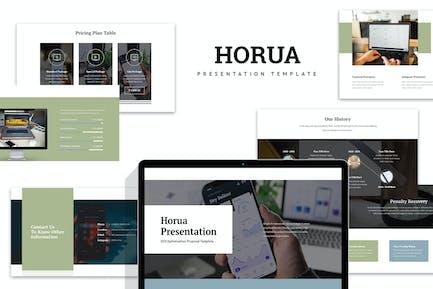 Horua : SEO Optimization Keynote