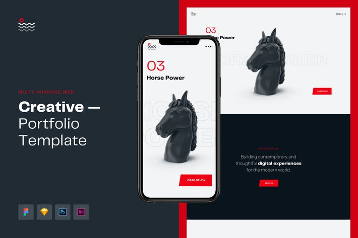 Thumbnail for Wave Multipurpose Creative Portfolio Web Template