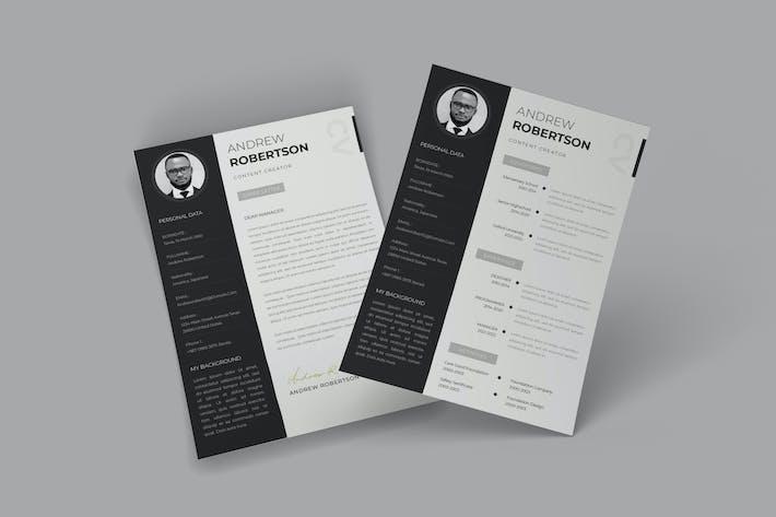 Thumbnail for Formally CV Resume