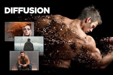 Diffusion CS3+ Photoshop Action