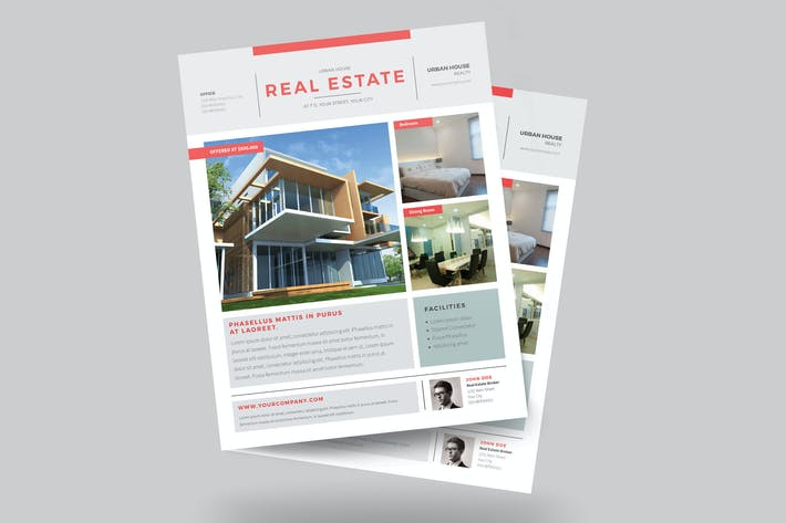 Thumbnail for Urban Real Estate Flyer