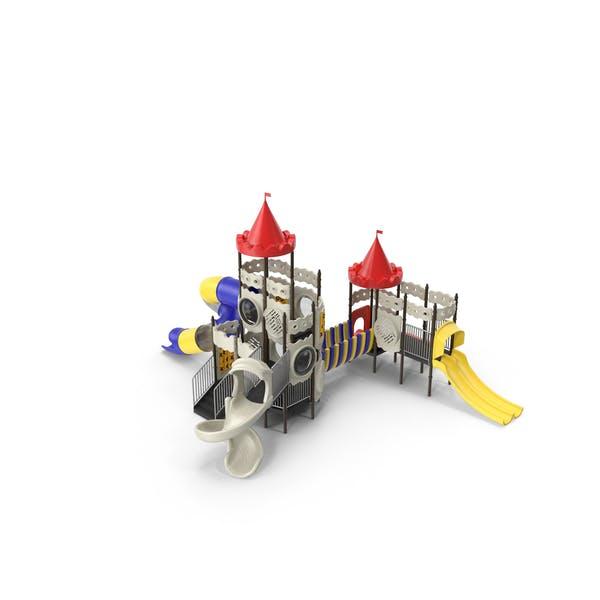 Замок детской игровой площадки