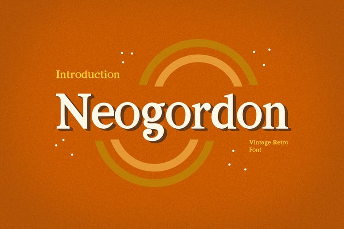 Thumbnail for Neogordon Serif Display Font