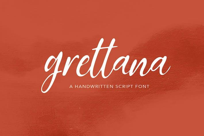 Thumbnail for Grettana Script