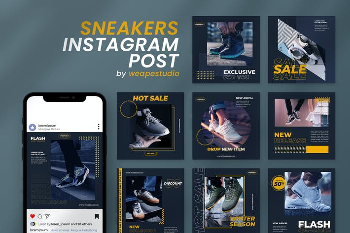 Thumbnail for Sneakers Instagram Post Template