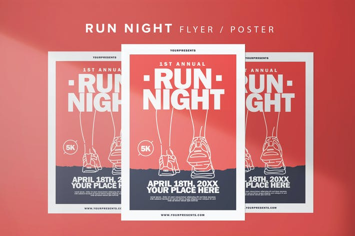 Thumbnail for Run Night Flyer