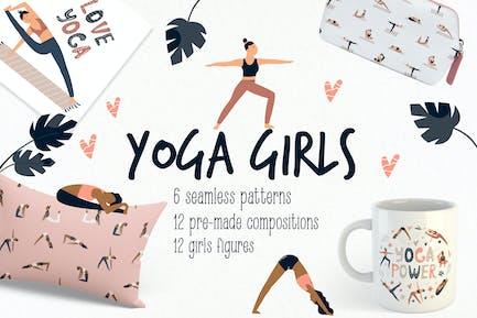 Yoga Girls en Asanas.