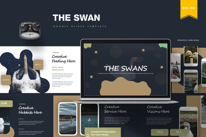 Thumbnail for The Swan | Google Slides Template